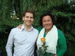 Shelle Rose Charvet und Christoph Athanas