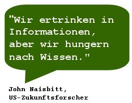 Info-Hunger-Wissen-Zitat